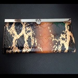 🅾⬇️Reduced⬇️🅾 - Brown/Black/Gold Wallet