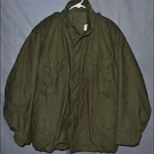 Original vintage army field jacket for sale
