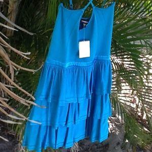 bebe Dresses & Skirts - 24/7 SALE BeBe sexy bandage dress turquoise NWT