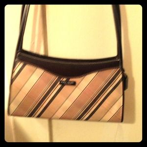 Retro plaid Kate Spade handbag