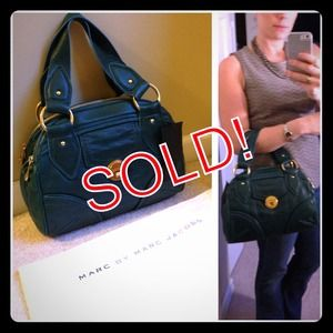 Marc Jacobs leather bag Authentic