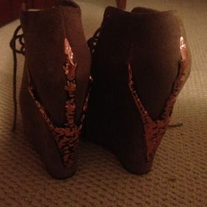 Jeffery Campbell limited addition wedges