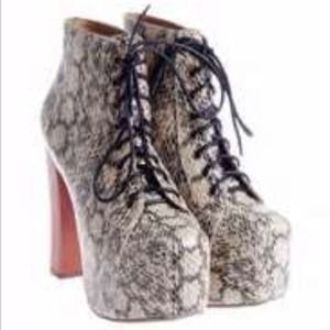 Shoes - Snakeskin print Litas JC inspired Sz 8