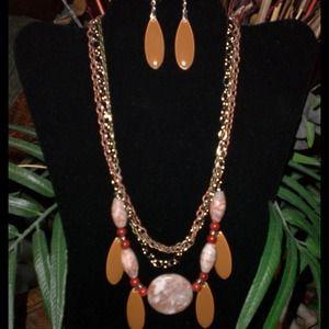 Marble stone... Handmade Jewelry