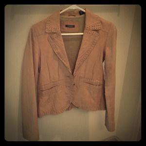 Tahari leather blazer, size XS, rarely worn