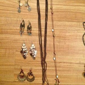 DBag of jewelry: boho chick look