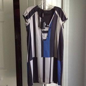 Club Monaco Dresses - NEW color block dress