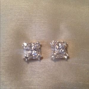 Jewelry - Silver CZ Earrings