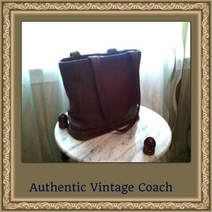  SALE Authentic Leather Coach Bag