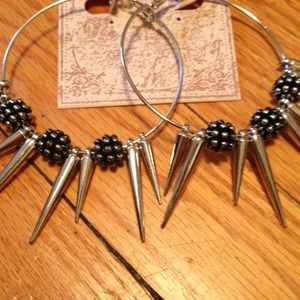 Super cool spike Earrings