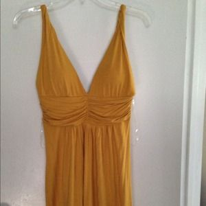 21 yellow dress just reduced price used once