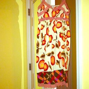 Really cute peach sundress