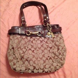REDUCED Authentic Coach handbag