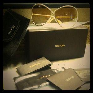 Tom Ford Sunglasses (Ivory)