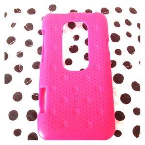 HTC Accessories - HTC EVO 3D PINK CASE :)