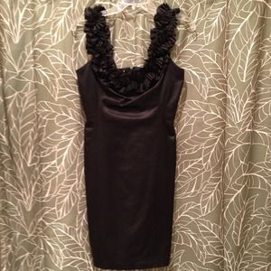 Black Cocktail Dress Sz 4 REDUCED!
