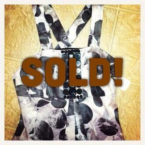 NEW! Nordstrom Laundry Black beaded dress Sz 2 XS