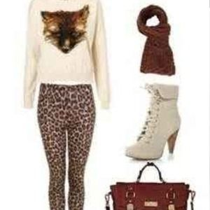 Pants - Cheetah leggings
