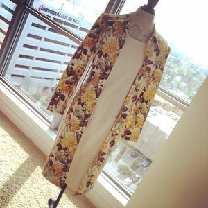 Beautiful Floral Dress Suit