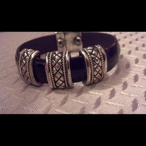 Jewelry - Sterling /18k  Gorgeous bracelet
