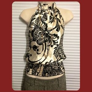 Sexy Floral Halter, Size S