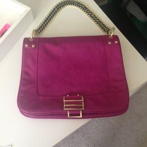 Handbags - SOLD: BRAND NEW Olivia & Joy fuchsia shoulder bag