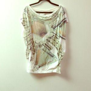 3.1 Phillip Lim printed rhinestone tunic