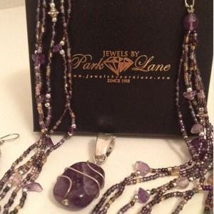Park Lane Jewelry - Park Lane Amethyst Jewelry Set