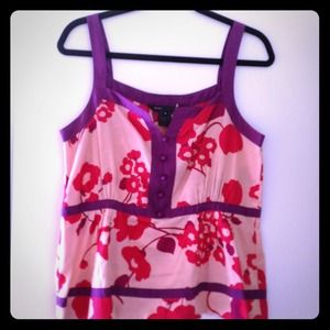 Marc by Marc Jacobs Floral Tank