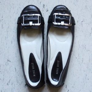 Nine West leather flat shoes