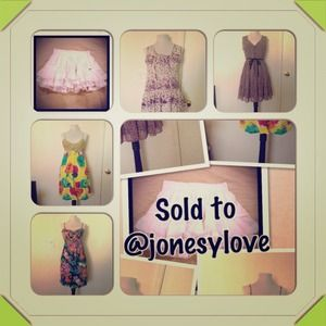 Dresses & Skirts - Sold to @jonesylove