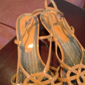 Orange sandal