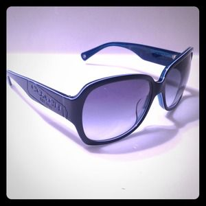 Navy Coach Sunglasses