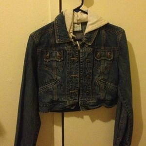 Denim Half Jacket M from Tiffany's closet on Poshmark