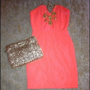 HOST PICK! Petite Lulu's Neon Orange Bodycon