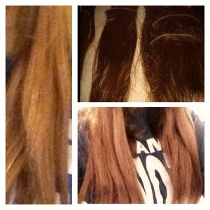 Accessories - Light Golden Brown Synthetic Extensions