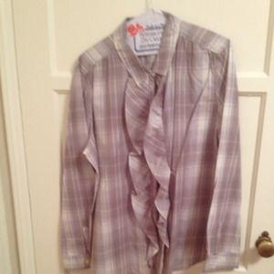 Ann Taylor LOFT blouse size XL