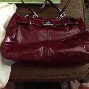 Coach Patent Leather Satchel