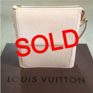 Louis Vuitton Mott Verni Leather Bag