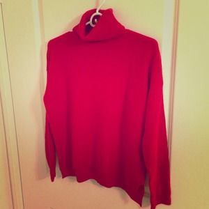 ✨ Brand New ✨  Zara turtleneck red knit sweater