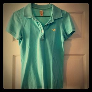 Classic Polo in Turquoise