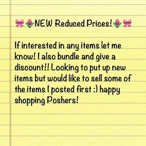 REDUCED PRICES SALE!!!✂✂ CHECK IT OUT 