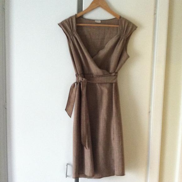 Kara-line Dresses & Skirts - Wool wrap dress