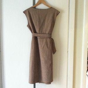 Kara-line Dresses - Wool wrap dress