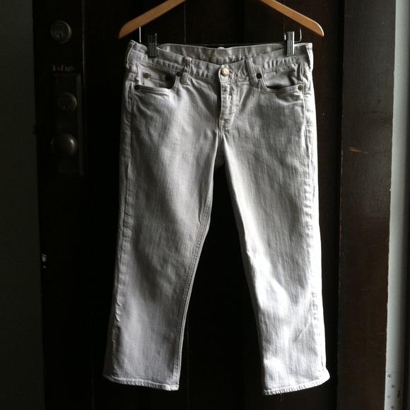 J. Crew Denim - J Crew capri jeans