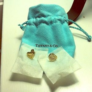 Tiffany & Co. Heart Tag Earrings