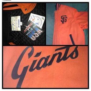 Jackets & Blazers - Jeff Hamilton Giants Jacket