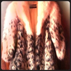 Outerwear - Vintage Faux Fur Coat...