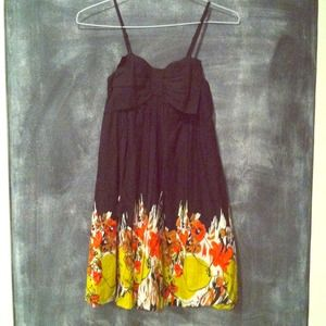 Spring Floral Dress with Pockets