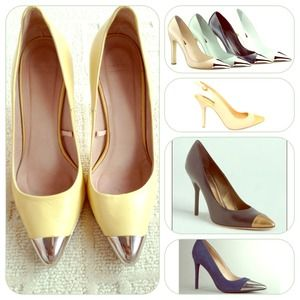 Host pickZara Cap Toe Pump